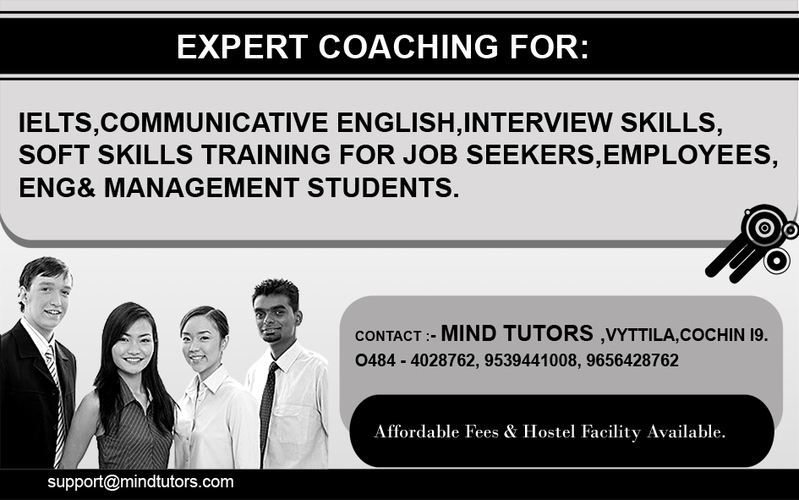 Best center in south india for ielts toefl pte soft skills training