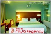 ACCOMMODATION IN THRISSUR,  KERALA-HOTEL NIYA REGENCY-0487 2365094.