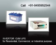INVERTER CUM UPS in Kerala-High Quality for Home, Shops, Internet cafe