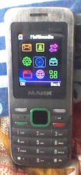 Used Maxx Mobile with new 2GB Memory card for just Rs. 950 only