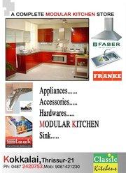 Modular Kichen in Thrissur-CLASSIC KITCHENS-0487 2420753, 9061421230