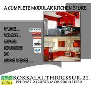 Modular Kitchen Designers in Thrissur-Classic Kitchens--0487 2420753,