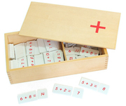 Montessori Educational toys-Addition Equations and Sums Box