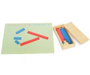 Montessori Educational toys-Addition Strip Board