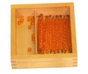 Montessori Educational toys-Bead Bars for Ten Board with Box