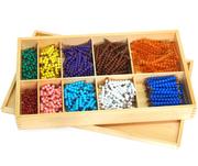 Montessori Educational toys-Bead Decanomial with Box