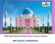 Painting contractors in Thrissur - Mini Color World.