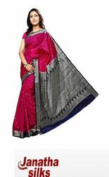World's largest bridal collection - Janatha Silks.