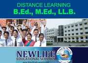B.Ed / M.Ed / LL.B Recognised Courses through distance education India