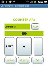 Corporate Technologies -  Counter Application