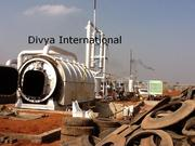 Used Tyre  - Waste Tyre Recycling Plant