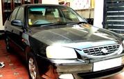 HYUNDAI ACCENT 2003 CRDi BLACK FOR SALE