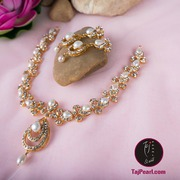 Austrian Crystals Necklaces from Taj Pearl. Shipping free in India