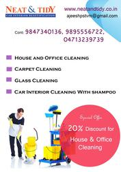 House keeping and carpentry cleaning service in Trivandrum