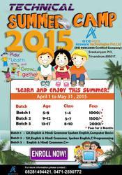 Vacation classes in Trivandrum (SREEKARYAM)