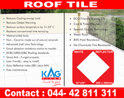 KAG ROOF TILES-WEATHER PROOF