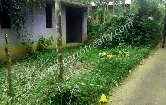 6cent land with small terrace house for sale in near for Terrace 6 indore address