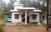 52cent land with 3bhk(1200sqft) house for sale in Cherukattoor.wayanad