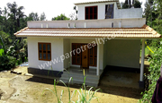 10cent land with 1500sqft house for sale in Moonanakuzhi,  Wayanad.