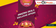 Get Online,  Get Shopping with Diwali offers and Discount Deals