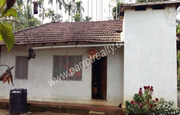 Land with house for sale near manalvayal.wayanad