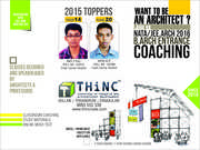 NATA /JEE Arch. Coaching in THiNC Institute