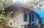 42cent land with a small house for sale in Moonnanakuzhy at 22lakh
