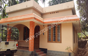 15cent land with 3 bhk house for sale near Kenichira at 35lakh