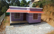 10cent land with 3bhk house (1300sqft) for sale in Kakkavayal