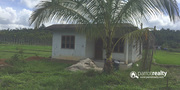 55 cent  land with (incomplete) 2bhk house for sale near bathery.