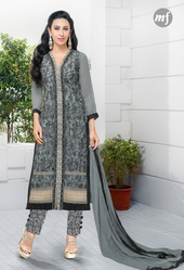 Semi Georgette with Embroidery  Suit Designer Salwer Kameez