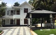Beautifully designed two story 5 bhk house in Valliyoorkavu