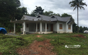 18 cent land with house for sale in AKG near Meenangady