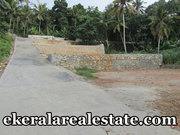 Mangalapuram Trivandrum  5.5 lakh per cent 25 cents land plot for sale