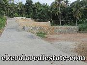 Mangalapuram Trivandrum  5.5 lakh per cent 25 cents land plot for sale