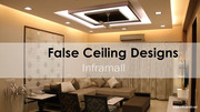 False Ceiling Materials & Gypsum Work Ernakulam Kerala Inframall