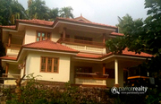 3.50 acre with two story 5 bhk house in Bathery @ 2Cr