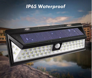 Solar Lights Outdoor 54 LED,  Super Bright Wide Angle Solar Powered Lig