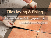 Tile Laying & Fixing Work Services Ernakulam Kerala