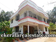 85 lkahs double storied hosue sale at Thirumala Trivandrum