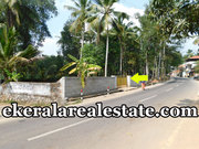 Plavoor Kattakada Trivandrum Tar road frontage land 10 cents for sale