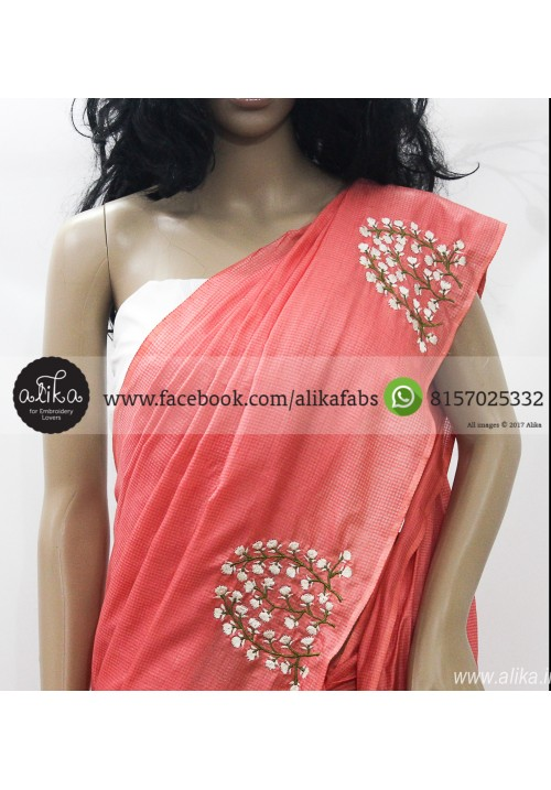 Peach Baptism Saree Kerala Clothing For Sale Accessories