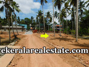 Villa plot  cents sale at Near Kundamankadavu Bridge Thirumala