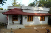 20 cent land with 3bhk house in Kaithakkal @ 40lakh.
