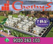 Chothys New Villa Projects Near Kazhakoottam 9020263103