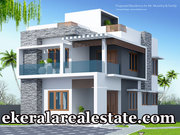 Vellayani Studio Road Trivandrum 4 cents land and new house for sale