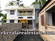 Cheruvakkal  Sreekaryam  3 cents land and new house for sale