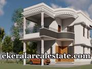 Santhipuram Powdikonam Trivandrum individual 3 bhk new house for sale