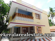 Kariyam Sreekaryam 5 cents land and new house for sale
