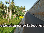 Vizhinjam road frontage land for sale